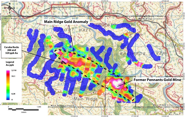 Carube Copper S Main Ridge