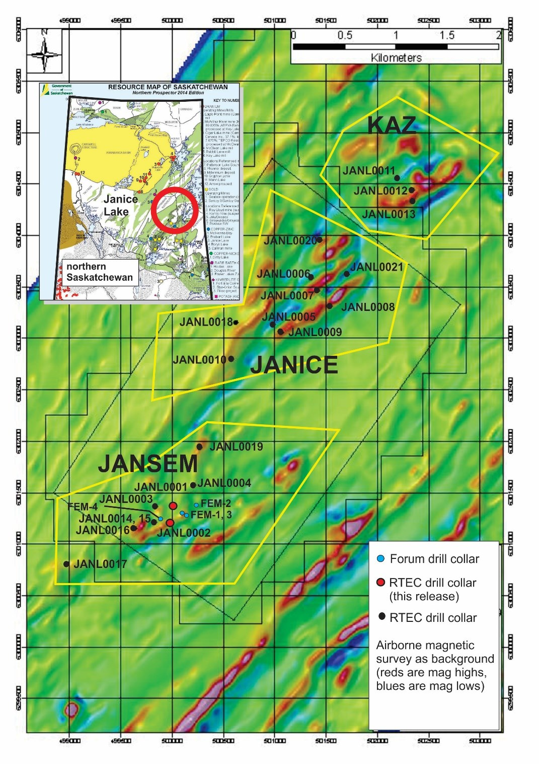 Rio Tinto Reports Positive Drill Results from Forum's Janice Lake Copper/Silver Project | Seeking Alpha