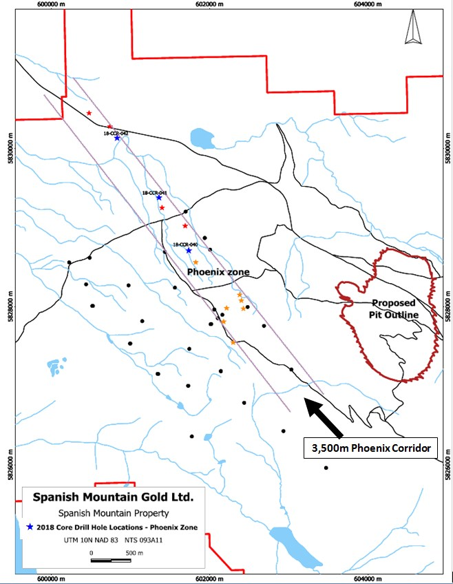 Spanish Mountain Gold Announces Results from Exploration