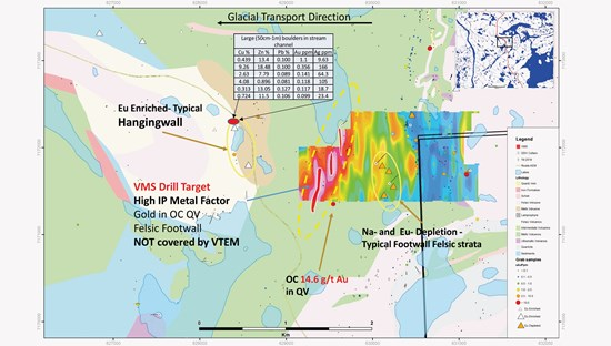 Aura Resources Discovers New Base Metal - Gold Targets on