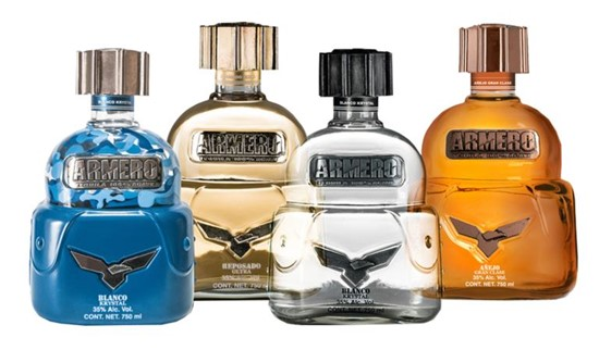 Cannot view this image? Visit: https://orders.newsfilecorp.com/files/7169/64855_armero%20tequila%20(002)_550.jpg