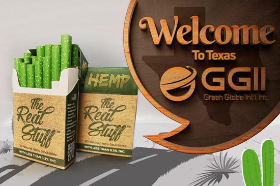 Cannot view this image? Visit: https://orders.newsfilecorp.com/files/7978/95544_texas%20opens%20hemp%20cbd%20cigarettes2_550.jpg