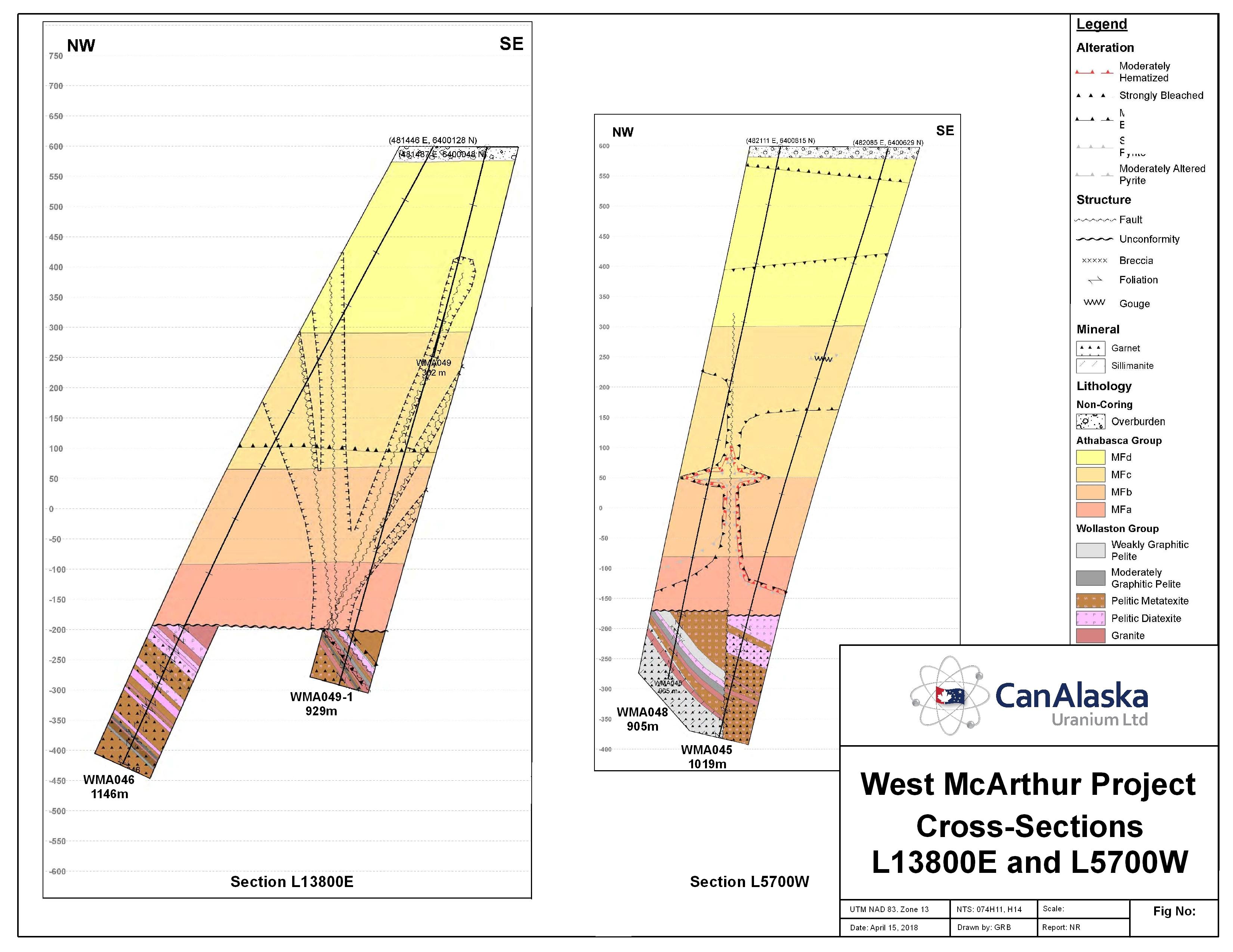 Canalaska reports further uranium from west mcarthur drill program buycottarizona Gallery