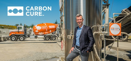 CarbonCure Closes Strategic Investment Led by Breakthrough